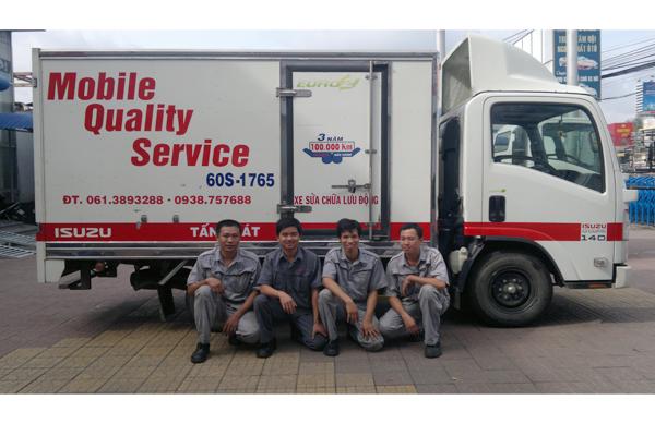Dịch vụ sữa chữa lưu động Mobile Services