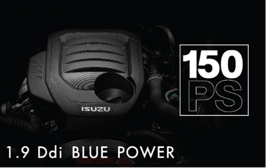 dong co ddi 1.9 Blue power Isuzu mu-x 2019 limited