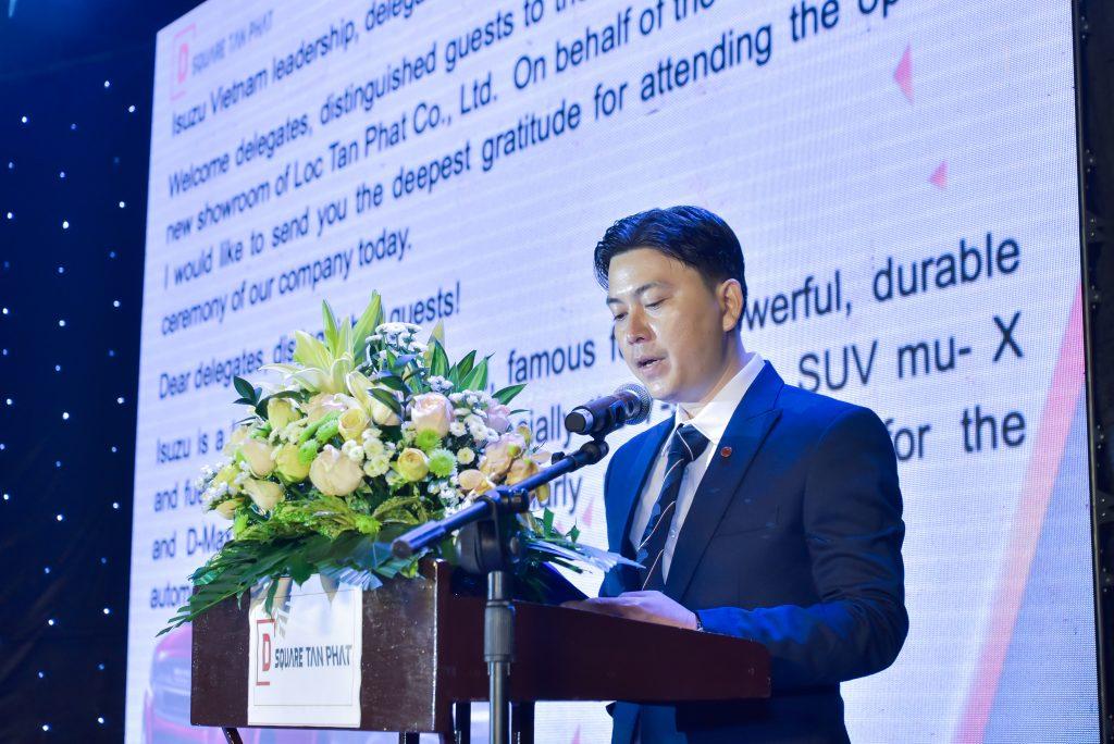Ông Đặng Hùng Dũng - Phó Giám đốc D-Square Tấn Phát