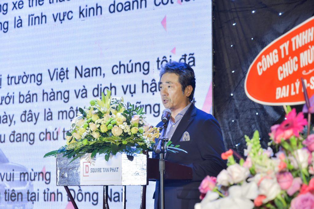 Ông HIDEKAZU NOTO – Tổng Giám Đốc Isuzu Việt Nam