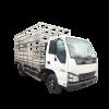 Isuzu QKR77FE4 xe chở gia cầm